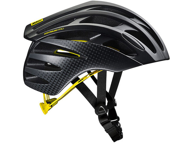 Mavic Ksyrium Pro MIPS Casco Hombre, black/yellow mavic